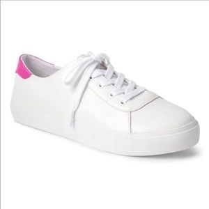 Gap Leather Lace-Up Sneakers size 5